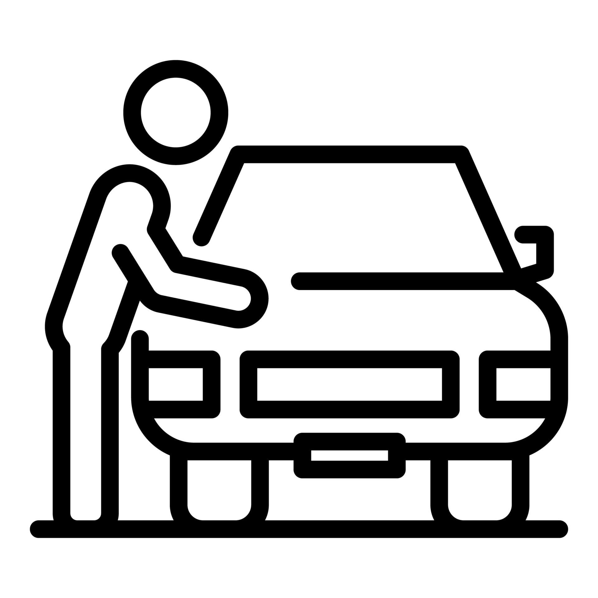 car-owner illustration