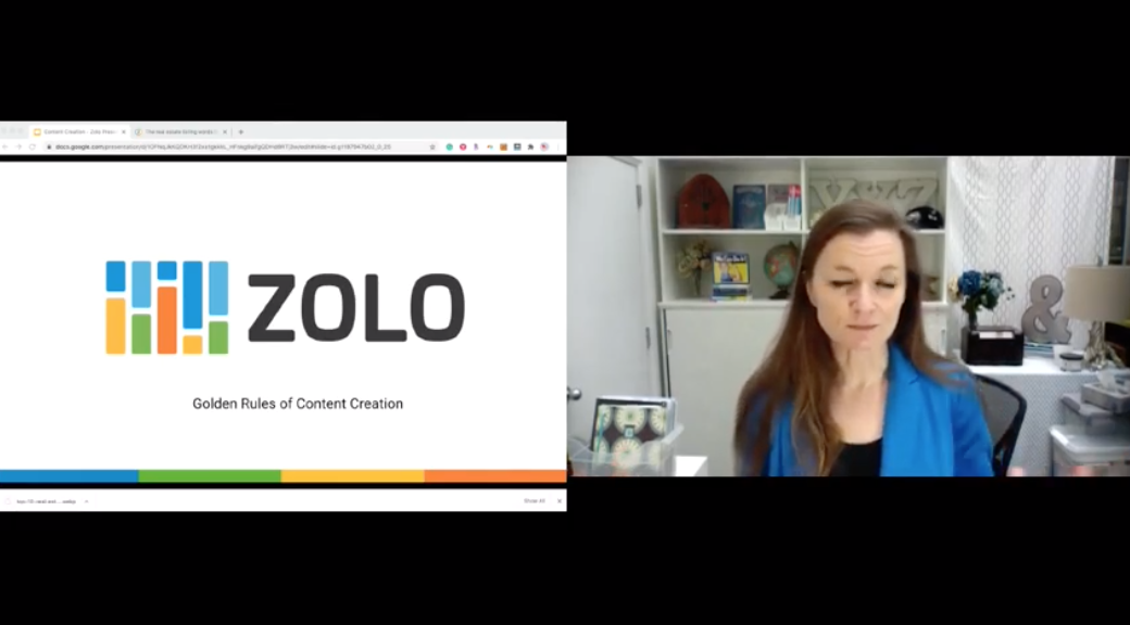Romana King talks about content creation on Zolo