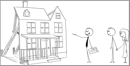 Stickman-realtor-showing-house-to-couple
